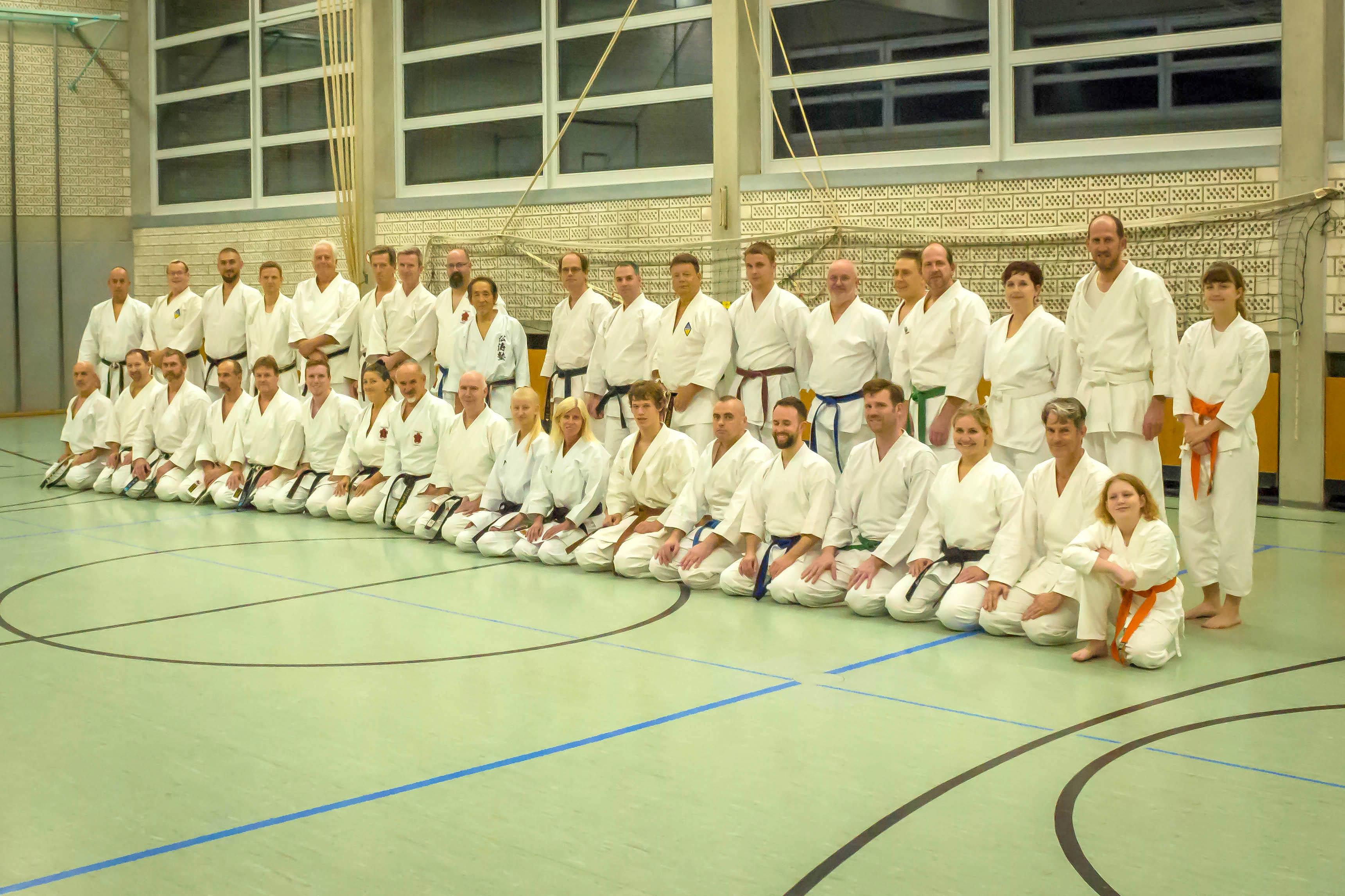 Japanischer Großmeister zu Gast bei Sei-Wa-Kei am Montag den 5.11