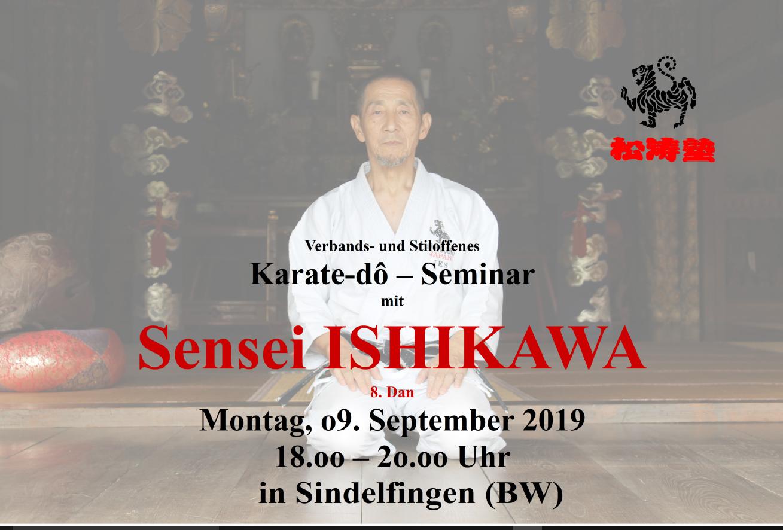 Sensei Ishikawa zu Gast bei Sei-Wa-Kei