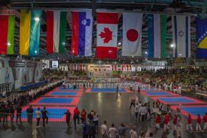 Karate WM im Sindelfinger Glaspalast