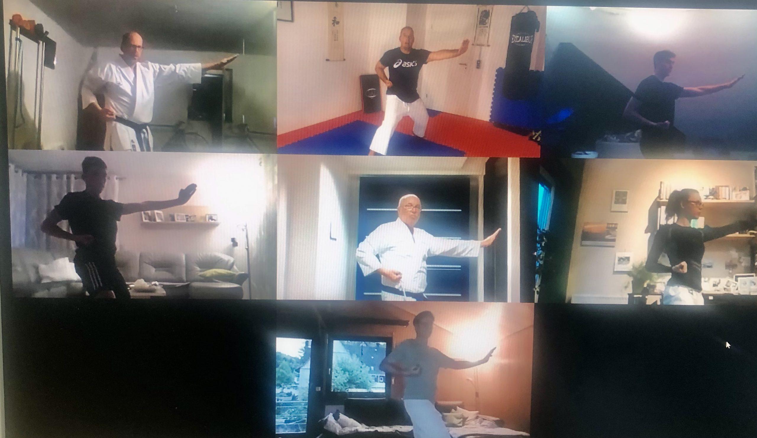 Informationen zu unseren Online Trainingseinheiten